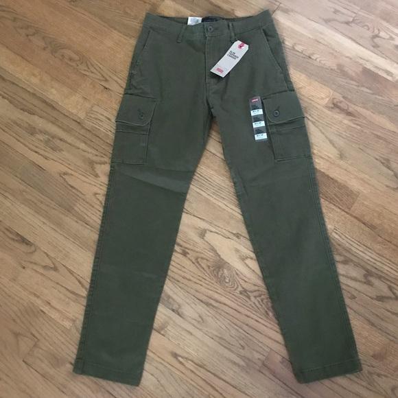 292a284286d Levi's Pants | Mens Levis Slim Fit Tapered Cargo | Poshmark